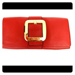 MK Red Clutch